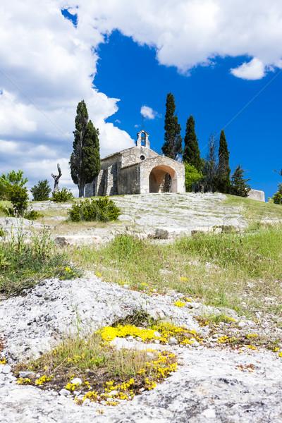часовня Франция Церкви архитектура Европа история Сток-фото © phbcz