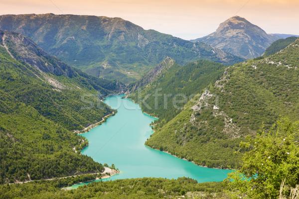 Chaudanne Barrier, Provence, France Stock photo © phbcz