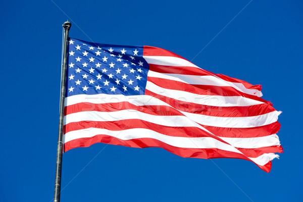 the USA flag Stock photo © phbcz