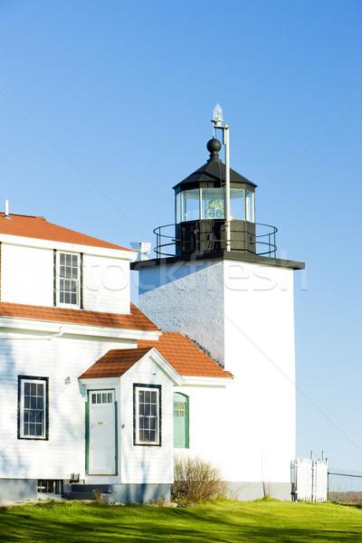 Zdjęcia stock: Latarni · fort · punkt · świetle · Maine · USA