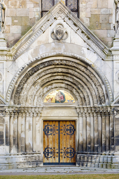 portal of Tepla Monastery, Czech Republic Stock photo © phbcz