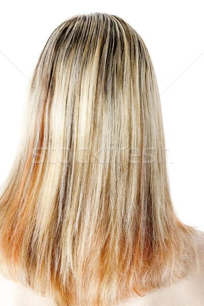 詳細 女性 長髪 女性 1 ストックフォト © phbcz