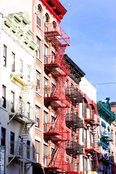 Zdjęcia stock: Chiny · miasta · Nowy · Jork · USA · budynku