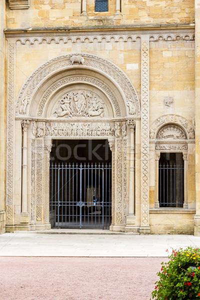 Abadia departamento França igreja arquitetura história Foto stock © phbcz