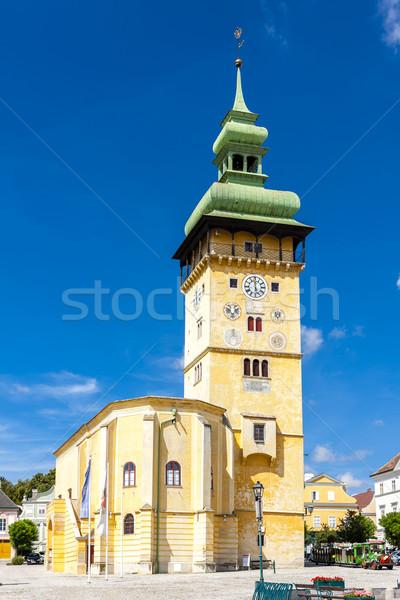 Photo stock: Mairie · baisser · Autriche · Voyage · urbaine · architecture