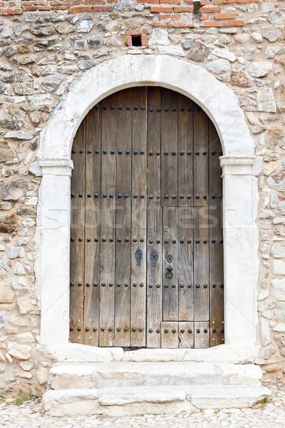 Porta castello Portogallo Foto d'archivio © phbcz