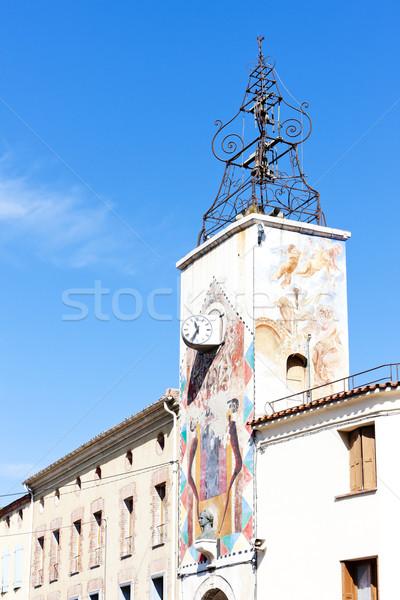 Estagel, Languedoc-Roussillon, France Stock photo © phbcz