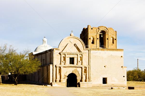 Сток-фото: Аризона · США · Церкви · архитектура · история · миссия