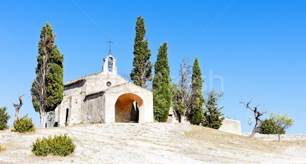 часовня Франция Церкви архитектура история улице Сток-фото © phbcz