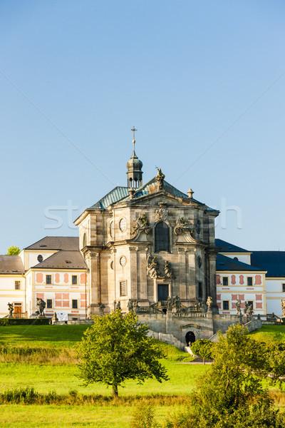 Castelo República Checa edifício viajar arquitetura europa Foto stock © phbcz