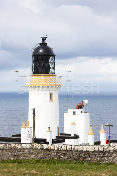 Dunnet Head Lighthouse, Highlands, Scotland Stock photo © phbcz