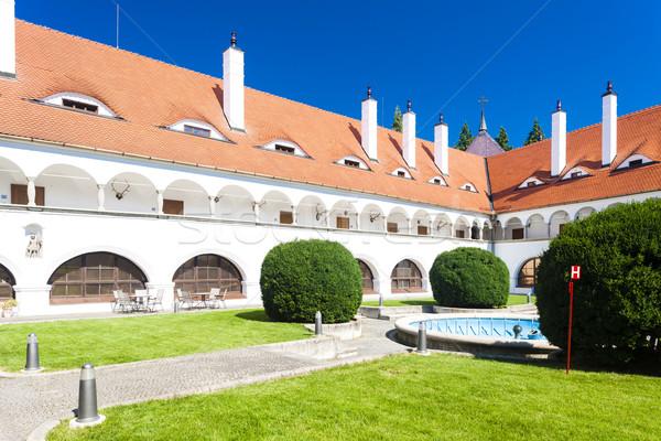 Saray Slovakya Bina mimari Avrupa tarih Stok fotoğraf © phbcz