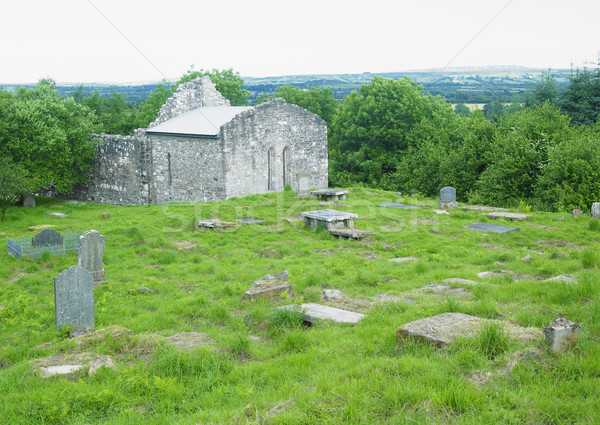 Dungiven Priory, County Derry, Northern Ireland Stock photo © phbcz