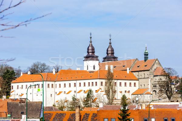 Bazilika Çek Cumhuriyeti ev Bina seyahat kale Stok fotoğraf © phbcz