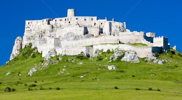 Spissky Castle, Slovakia Stock photo © phbcz
