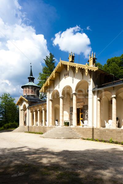 дворец замок Чешская республика путешествия архитектура улице Сток-фото © phbcz