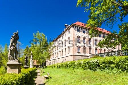 Castillo Polonia edificio viaje arquitectura Europa Foto stock © phbcz