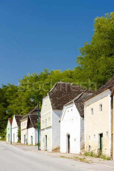 wine cellars, Eichenbrunn, Lower Austria, Austria Stock photo © phbcz