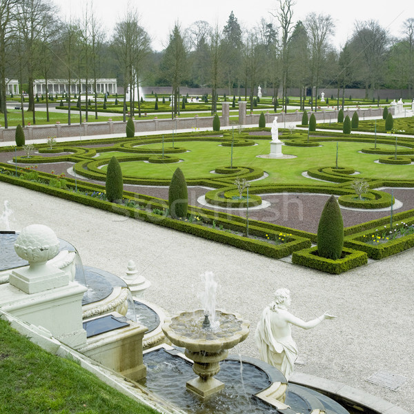 palace garden, Paleis Het Loo Castle near Apeldoorn, Netherlands Stock photo © phbcz