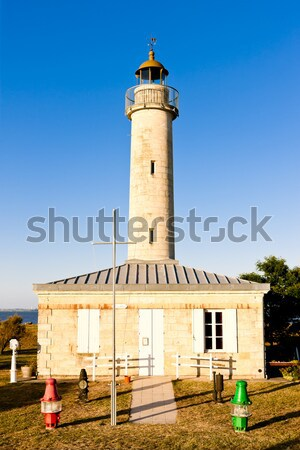 Richard Lighthouse, Gironde Department, Aquitaine, France Stock photo © phbcz