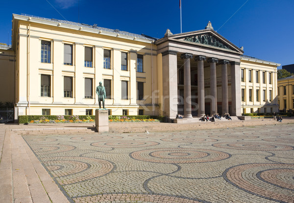University, Oslo, Norway Stock photo © phbcz