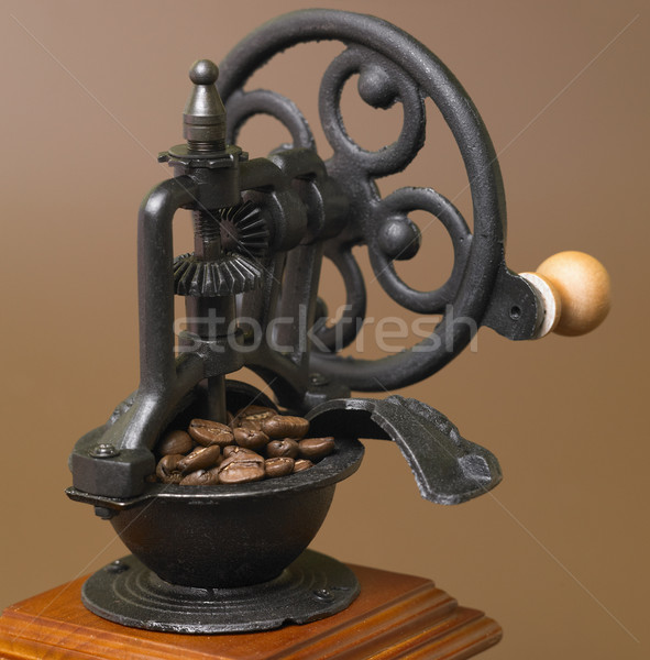Stock photo: coffee mill