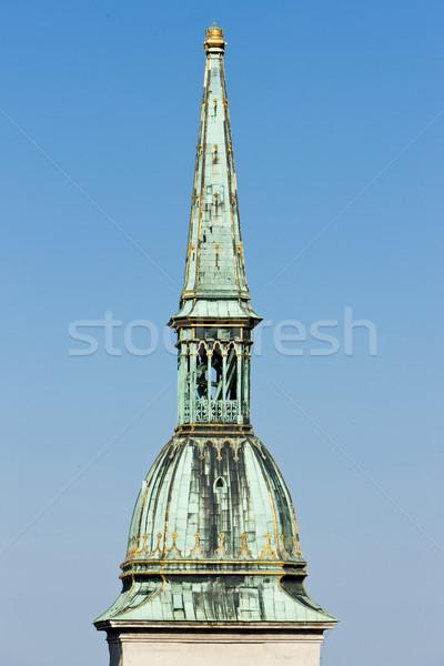 Detaliu catedrală Bratislava Slovacia biserică Imagine de stoc © phbcz
