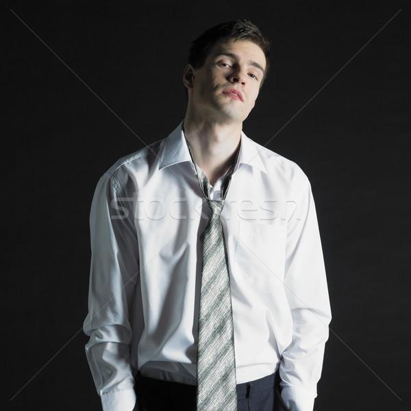 businessman's portrait Stock photo © phbcz