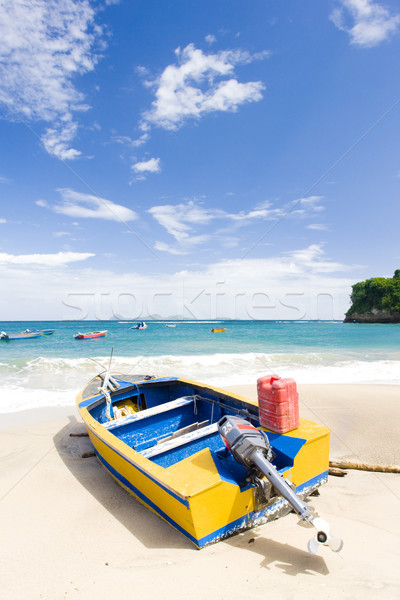 fishing boat, Sauteurs Bay, Grenada Stock photo © phbcz