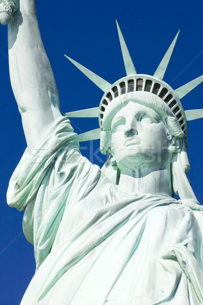 Détail statue liberté New York USA Voyage Photo stock © phbcz