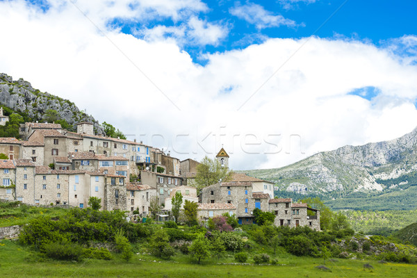 Afdeling Frankrijk huis gebouw architectuur Europa Stockfoto © phbcz