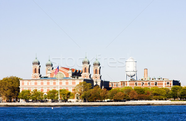 Immigration Museum, Ellis Island, New York City, USA Stock photo © phbcz