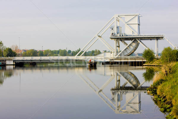 Pegasus Bridge, Normandy, France Stock photo © phbcz