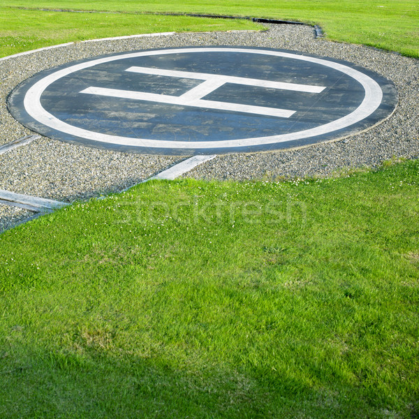 helipad, County Clare, Ireland Stock photo © phbcz