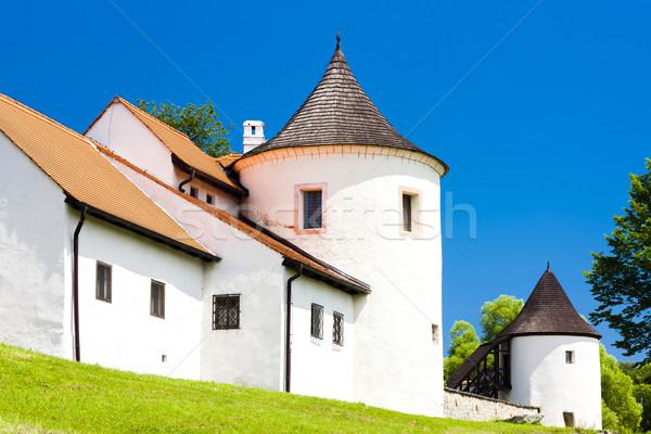 牙城 チェコ共和国 城 アーキテクチャ 歴史 外 ストックフォト © phbcz