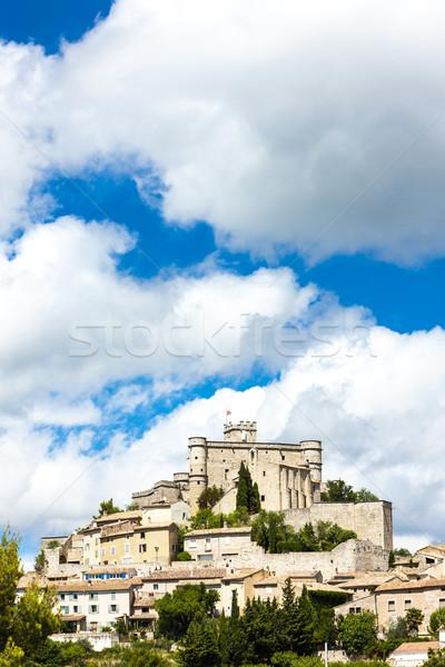 Le Barroux, Provence, France Stock photo © phbcz