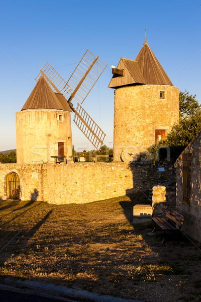 Stok fotoğraf: Fransa · seyahat · mimari · fırıldak · açık · havada · dışında