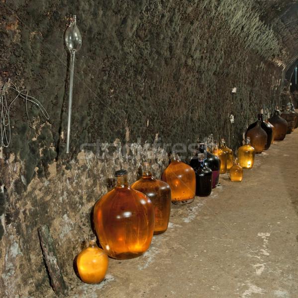 Borospince borászat Csehország italok alkohol iszik Stock fotó © phbcz