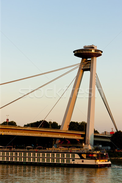 New Bridge, Bratislava, Slovakia Stock photo © phbcz