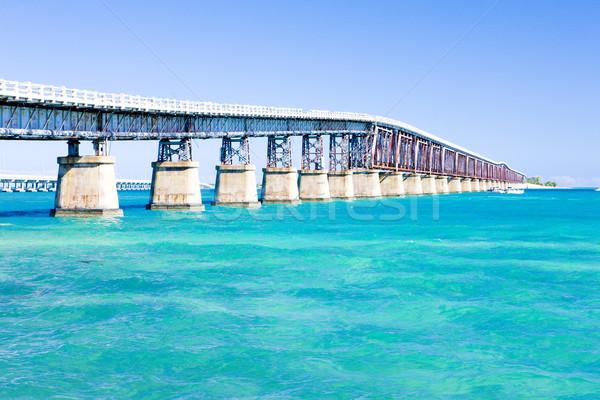 Stockfoto: Weg · brug · Florida · sleutels · USA