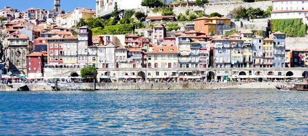 Trimestre Portugal edifício cidade rio arquitetura Foto stock © phbcz