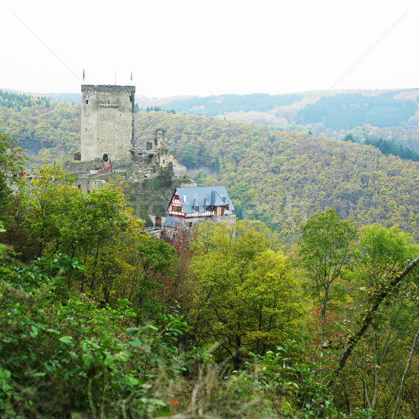 Ehrenburg Castle, Rheinland Pfalz, Germany Stock photo © phbcz