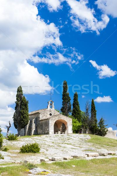 Capilla Francia iglesia arquitectura Europa historia Foto stock © phbcz