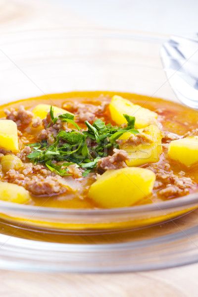 goulash soup Stock photo © phbcz