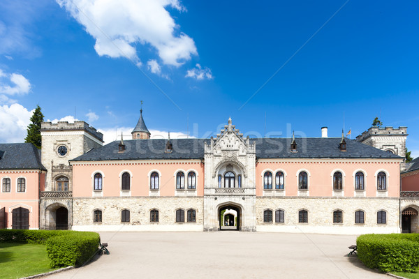 Palace Sychrov, Czech Republic Stock photo © phbcz