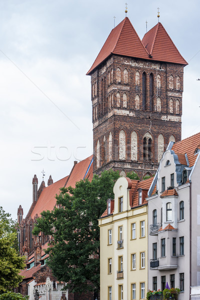 St James church, Torun, Kuyavia-Pomerania, Poland Stock photo © phbcz