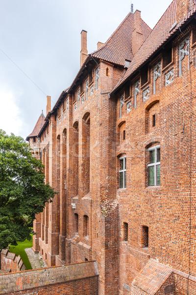 Zamek Polska podróży architektury gothic historii Zdjęcia stock © phbcz