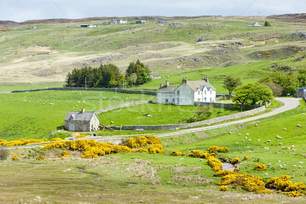 Manzara dağlık İskoçya seyahat Stok fotoğraf © phbcz