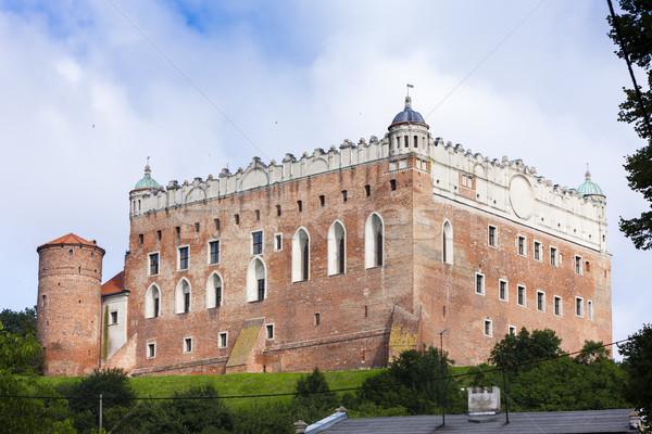 Castle in Golub Dobrzyn, Kuyavia-Pomerania, Poland Stock photo © phbcz