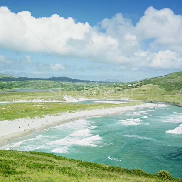 Tengerpart dugó Írország tenger utazás tájképek Stock fotó © phbcz
